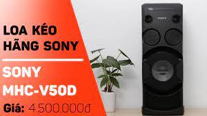 Top 3 loa kéo Sony karaoke Chính hãng Giá rẻ Tốt nhất hiện nay