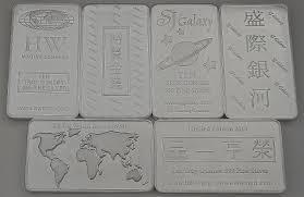 Humc My Chart 30 Ounces Hw Minting Company 10 Ounces 999 Fine Silver Bars All Designs