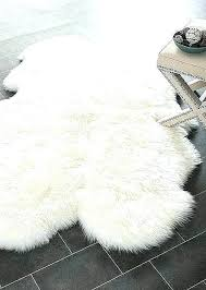 grey mongolian faux fur rug from by in silver blush sheepskin pure mainstays mainstays mongolian faux fur figural rug