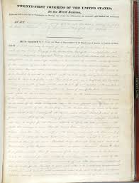 the n removal act is on view at the national archives for the the n removal act of 1830 courtesy national archives