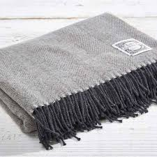 Merino Wool Blankets And Throws