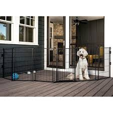 outdoor pet gate weatherproof super for deck pressure mounted gates australia