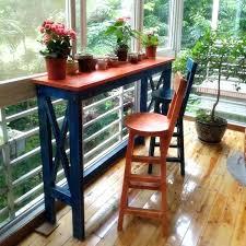 balcony bar table diy