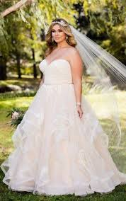 plus size wedding dresses pink lace plus size wedding dress