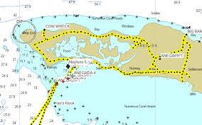 Bvi Navigation Charts Navigating With Gps Charts And Eyeballs