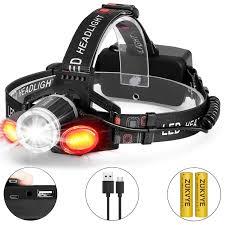 Lumens Lighting Promo Code Zukvye Rechargeable Super Bright Led Headlight 6000 Lumens
