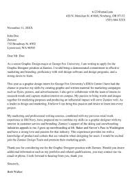 Cover Letter For Graphic Design Job Graphic Designer Cover Letter Sample Letters Examples