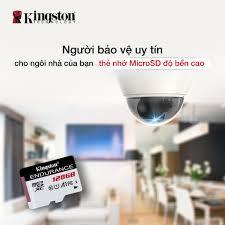 Kingston Technology - Chọn cho mình thẻ nhớ microSD độ bền cao, có khả năng quay  phim và phát lại liên tục ở độ phân giải Full HD 1080p, đảm bảo an