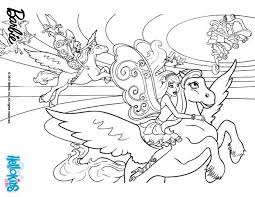 Small Picture Barbies winged horse coloring pages Hellokidscom