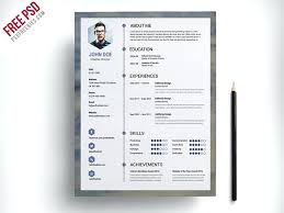 Modern Resume Template 2017 The Best Free Resume Templates Best Free