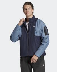 <b>Куртка мужская</b> Adidas <b>Bts</b> Lined Jkt, цвет: синий. DZ1442. Размер ...