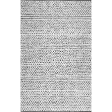 natosha chevron striped silver 4 ft x 6 ft indoor outdoor area rug