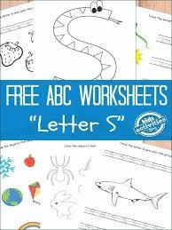 Letter G Worksheets Free T For Kindergarten Printable N