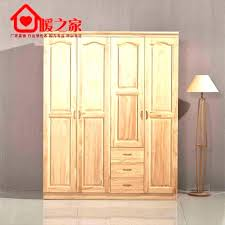 wood wardrobe cabinet wooden portable closet whole simple with armoire for