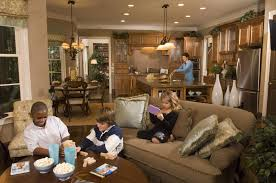 Kitchen Family Room Layout The Inside Part Family Living And Dining Rooms Before Room Toward