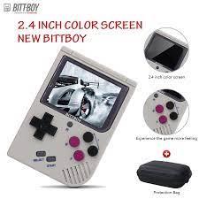 Video Máy Chơi Game Mới BittBoy Version3.5 Retro Trò Chơi Máy Chơi Game Cầm  Tay Tay Cầm Người Chơi Tiến Bộ Tiết Kiệm/Tải Trọng Thẻ Nhớ MicroSD bên  Ngoài|Handheld Game Players