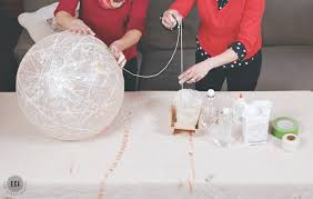 Paper Mache String Lights Diy Globe Light Aka Balloon String On Steroids