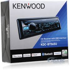 kenwood kdc bt565u single din bluetooth in dash cd am fm car product kenwood kdc bt565u