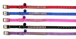 Beau <b>Pets</b> Nylon Jewel <b>Safety</b> Cat <b>Collar</b> - Pink