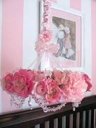 chandeliers for baby girl room chandelier for baby girl nursery flower mobile by on room chandeliers for baby