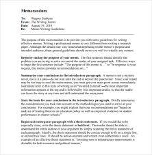 Memorandum Sample 19 Formal Memorandum Templates Free Sample Example Format
