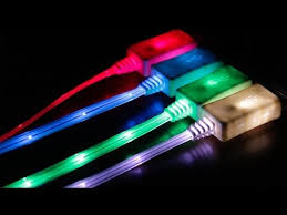 choose cable lighting. LED Light Up USB Cords (2pk) Choose IPhone 5 Or Micro Cable Lighting