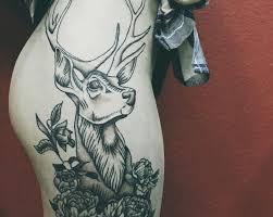 татуировка олень значение фото Chillout Tattoo Workshop