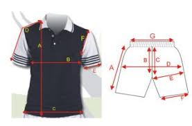 Sizing Guide Bace Sports Wear