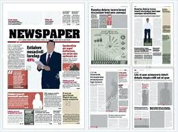Blank Newspaper Template For Kids Free Templates Download Images