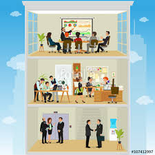 awesome open office plan coordinated. Crazy Office. Working Atmosphere In The Coordinated Work Friendly Team Awesome Open Office Plan