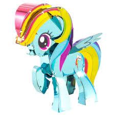 metal earth my little pony rainbow dash 1