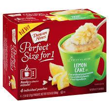 Duncan Hines Perfect Size For 1 Lemon Cake Mix 1016 Oz 4254 Oz