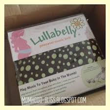momhood bliss our baby's first gadget lullabelly prenatal