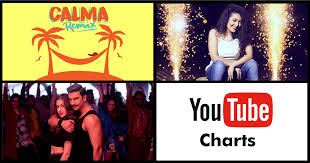 Latest Chart Songs Youtube Indian And Spanish Artists Dominate Youtube Global Music