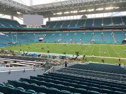 Miami Dolphins Hard Rock Stadium Seating Chart Hard Rock Stadium Concert Tickets