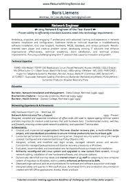 Admin Resume Samples Network Administrator Sample Resume System ...