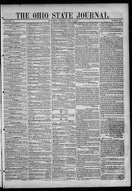 Ohio State journal (Columbus, Ohio : 1844), 1844-04-16 page 1 - The Ohio  State Journal -