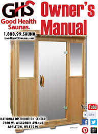 gse owners manual good health saunas sunlighten sauna troubleshooting at Sunlight Dry Sauna Wiring Diagram