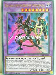 Battles Of Legend Light S Revenge Yugioh 022 Gladiatorungeheuer Andabata Battles Of Legend Lights Revenge