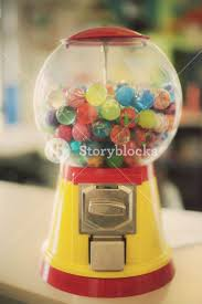 Vintage Candy Vending Machine Unique Candy Bubblegum Toy Machine Soft A Retro Vintage Dispenser Of Toys