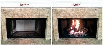 gas log installation gas log sets
