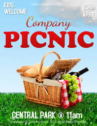 Company Picnic Template Company Picnic Template Postermywall