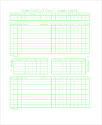 50 Lovely Bowling Score Sheet Template – Template Free