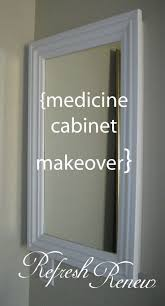 Medicine Cabinet Frame 25 Best Ideas About Bathroom Medicine Cabinet On Pinterest
