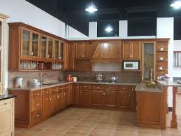 kitchen wood furniture. Kitchen. Awesome Solid Wood Maple Kitchen Cabinet Furniture With Florescence Shade Lamp . I