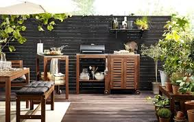 patio furniture ikea a large garden with a white suite of garden furniture consisting of