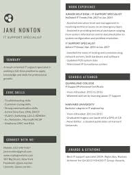 It Support Specialist Resume Sample And Template Pdf Word