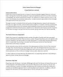 human resource plan planningengineernet humanhuman sample hr manager job description 9 examples in pdf
