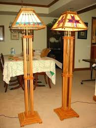 mission table lamp mission style floor lamps dale tiffany wood mission table lamp