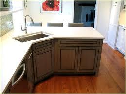 Corner Sink Base Cabinet 42 Inch Kitchen Trends Fresh Vision Or98